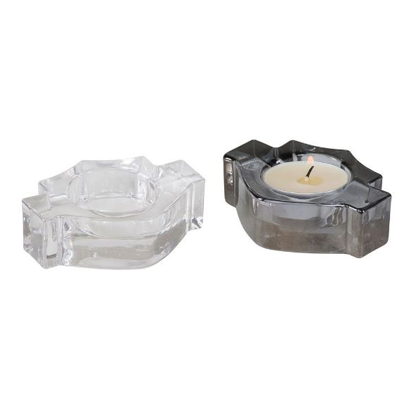 Picture of Bar & Shield Tea Light Candle Holders
