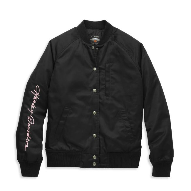 Picture of Women's Bar & Shield Bomber Jacket