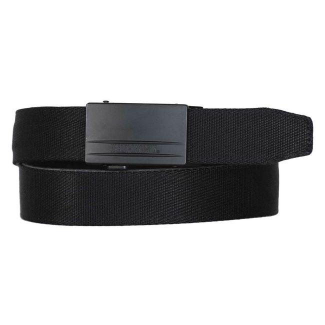 Picture of Men's Bikers Ratchet Nylon Webbing & Leather Belt