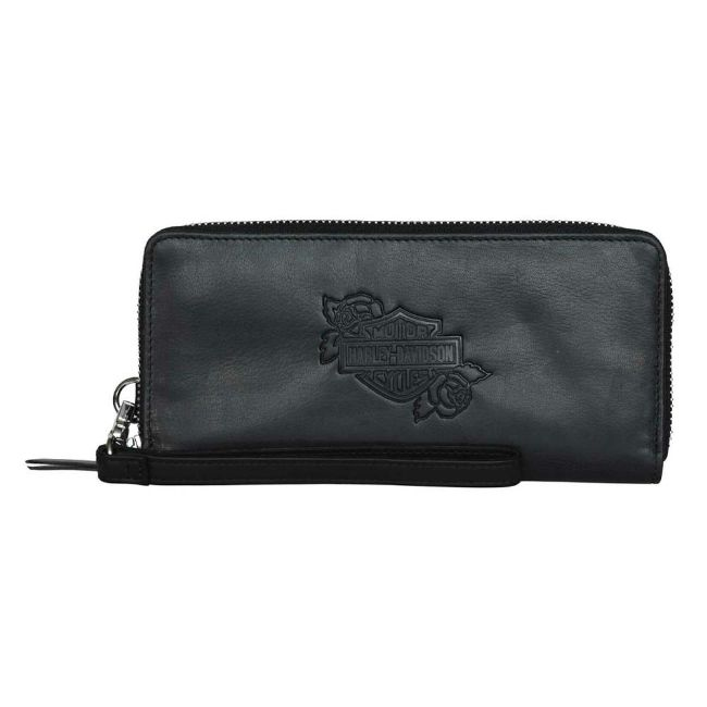 Picture of Women's Rockin' Roses Large Zip Wallet